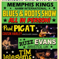 Memphis Kings International NAMM Kickoff show with Paul Pigat and friends