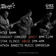 Grez Guitars Blues and Roots Clinic with Kid Andersen